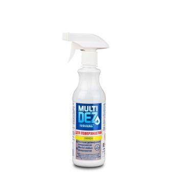 МультиДез-Тефлекс средство для дезинфекции поверхностей ЛИМОН (триггер) 1л