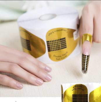 Форма для наращивания ногтей Треугольник, 500 шт