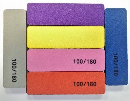 Баф 100/180 9х3см, прямоугольник