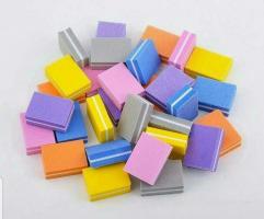 Баф-мини 100/180 3.5х2.5см, цветной