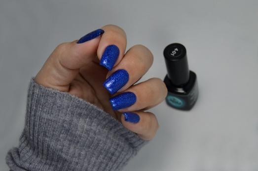 Гель-лак ROSI Joy, 5мл, синий с блеском 4-01