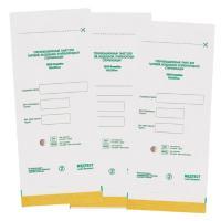 Пакеты бумажные самокл. 100*200мм, ПОШТУЧНО, СтериМаг (белые)