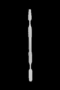 Лопатка маникюрная STALEKS EXPERT 40 TYPE 2 (шпатель широкий ровный+шпатель широкий конический)
