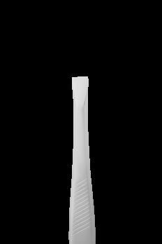 Пинцет для бровей STALEKS CLASSIC 10 TYPE 1 (широкие прямые кромки)