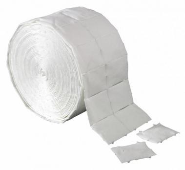 Салфетки безворсовые (лигнина) TNL 5х3,5см, рулон, 500шт