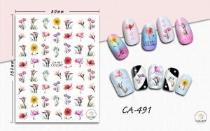 Наклейки ColoRF, цветы/растения