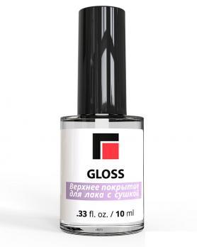 Верхнее покрытие для лака с сушкой Milv «Gloss», 10 мл