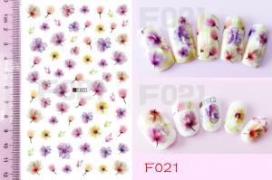 Наклейки на клейкой основе Nail Ornament, F021