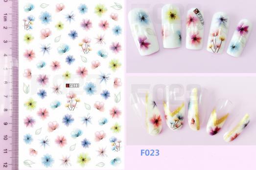 Стикер Nail Ornament, F023