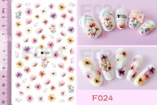 Стикер Nail Ornament, F024