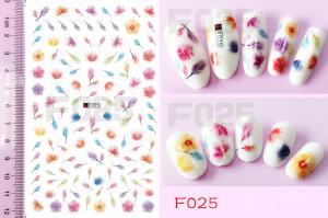 Наклейки на клейкой основе Nail Ornament, F025