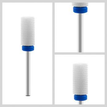 Фреза керамическая, цилиндр, синее кольцо