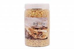 Воск горячий (пленочный) ITALWAX гранулы 500гр (банка), Натуральный