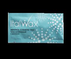 Тальк косметический ITALWAX 3гр (саше), с ментолом