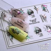 Слайдер Fashion Nails 3D Crystal 29