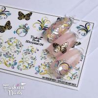 Слайдер Fashion Nails 3D Crystal 34