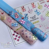 Слайдер Fashion Nails 3D Crystal 35