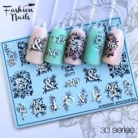 Слайдер Fashion Nails 3D 077