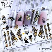 Слайдер Fashion Nails 3D 080