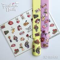Слайдер Fashion Nails 3D 113