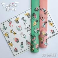 Слайдер Fashion Nails 3D 116