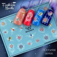 Слайдер Fashion Nails 3D Crystal 09