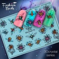 Слайдер Fashion Nails 3D Crystal 10