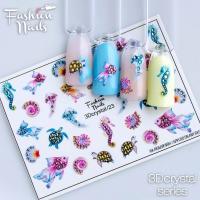 Слайдер Fashion Nails 3D Crystal 23