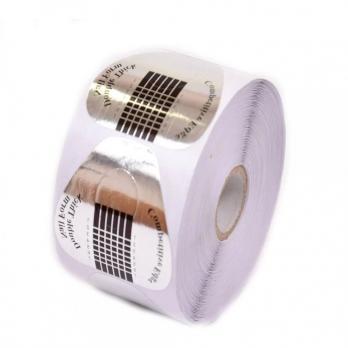 Формы для наращивания ногтей Треугольник, 500 шт, серебро