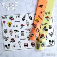 Слайдер Fashion Nails 3D 105