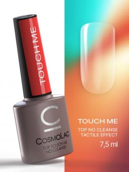 Топ глянцевый без л/с Cosmolac Top Touch me no cleanse 7,5мл