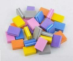 Баф-мини 180/240 3.5х2.5см, цветной