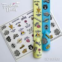 Слайдер Fashion Nails 3D Crystal 117