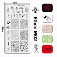 Пластина для стемпинга UPRETTEGO Ethno М02