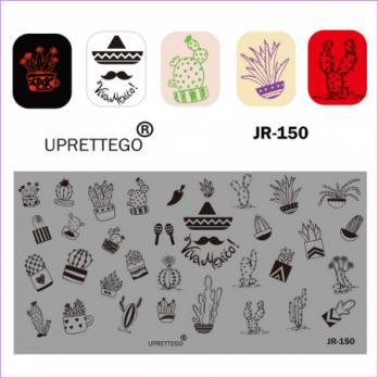 Пластина для стемпинга UPRETTEGO JR-150