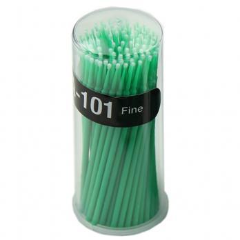 Микробраши Navina Fine 2,0мм, 100шт, (зеленые)