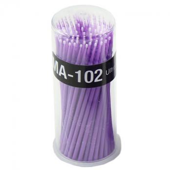 Микробраши Navina Ultra Fine 1,5мм, 100шт (фиолетовые)