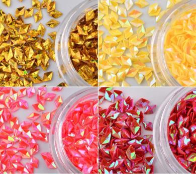 Набор пайеток Ромбы, 12 цветов