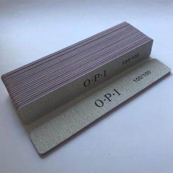 Пилка 100/180 OPI, прямоугольник
