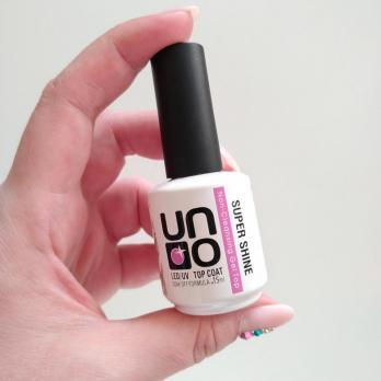 Топ UNO Super Shine 15мл, без липкого слоя