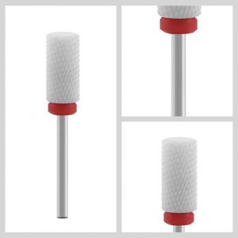 Фреза керамическая, цилиндр, красное кольцо