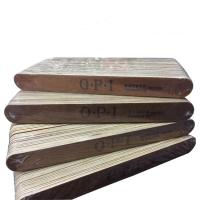 Пилка 100/150 OPI овал, деревянная основа