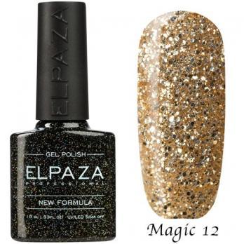 Гель-лак ELPAZA 10мл, №12 Magic, Мечта принцессы