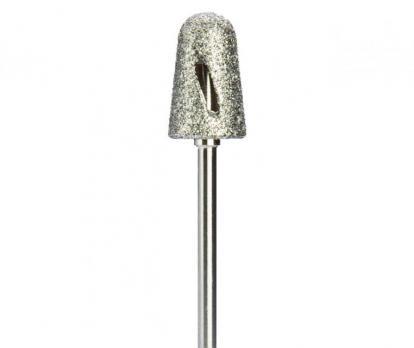 Фреза алмазная для педикюра, твистер, средняя